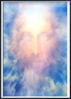 The Messiah in glory from Adam da Silva, Prodi Art, Art photography, Framed artwork, Prodi Art