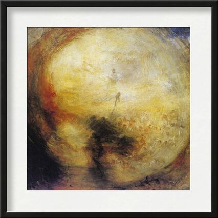 The Morning after the Deluge - WILLIAM TURNER 1843 from Aux Beaux-Arts, Prodi Art, Art photography, Framed artwork, Prodi Art