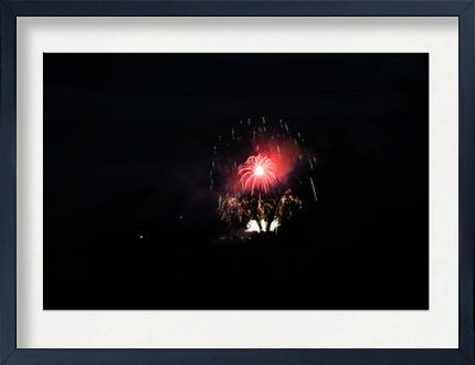 feux d'artifice from ivephotography, VisionArt, Art photography, Framed artwork, Prodi Art