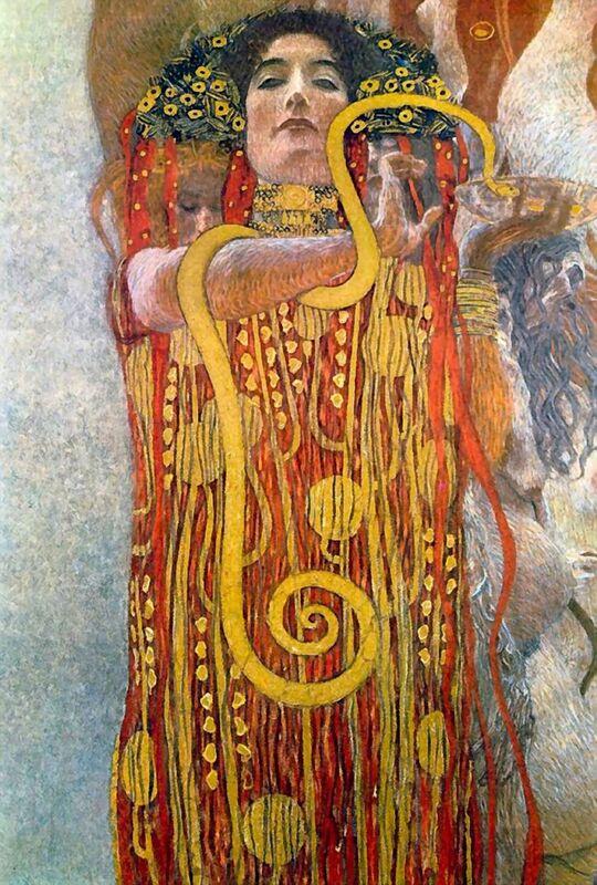Hygiène - Gustav Klimt de AUX BEAUX-ARTS Decor Image