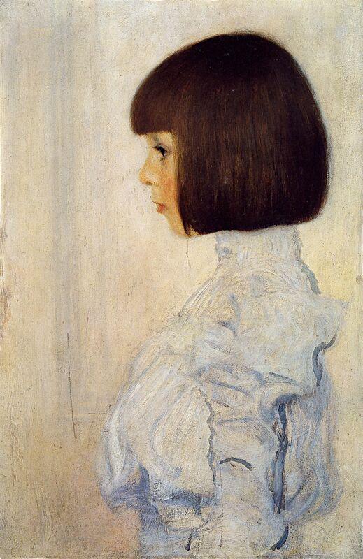 Portrait of Helene Klimt - Gustav Klimt from AUX BEAUX-ARTS Decor Image