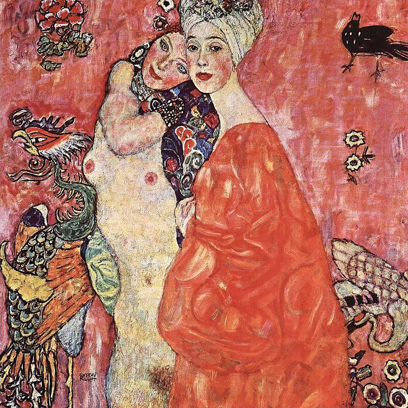 Les Petites Amies - Gustav Klimt de AUX BEAUX-ARTS Decor Image