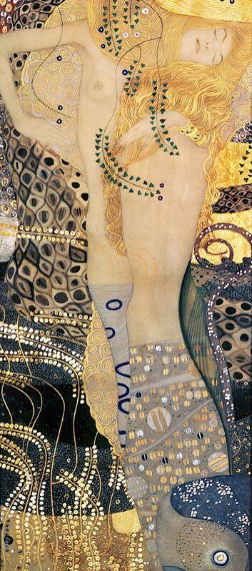 Water Snakes I - Gustav Klimt from AUX BEAUX-ARTS Decor Image