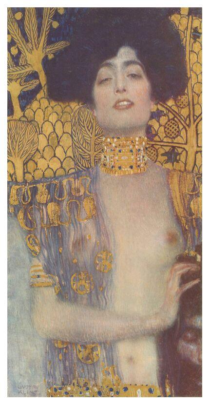 Judith, 1901 - Gustav Klimt de AUX BEAUX-ARTS, Prodi Art, or, nu, son, portrait, femme, KLIMT