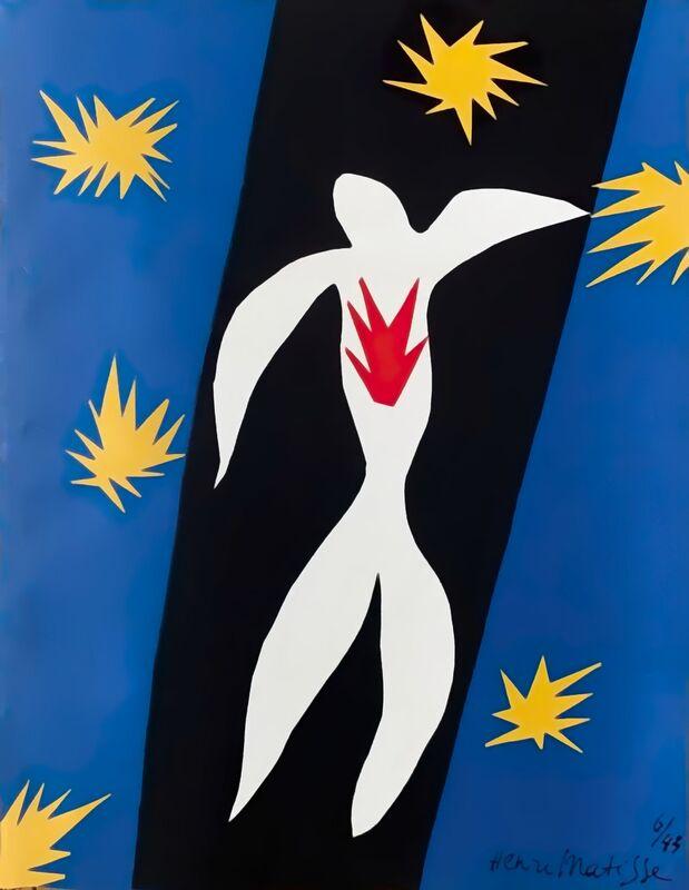 Chute d'Icare - Henri Matisse de AUX BEAUX-ARTS Decor Image