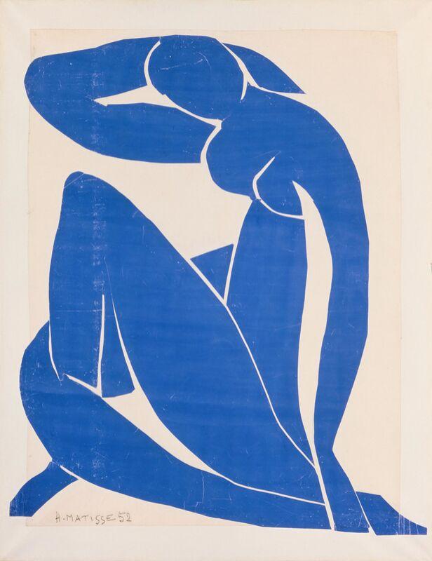 Blue Nude II - Henri Matisse desde AUX BEAUX-ARTS Decor Image