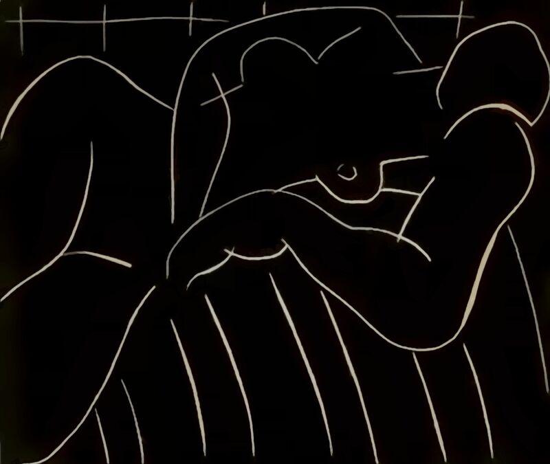 The Nap, 1938 - Henri Matisse desde AUX BEAUX-ARTS Decor Image