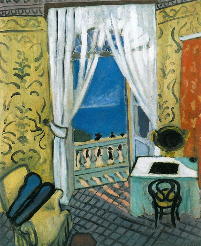 Still Life with Violin Case - Henri Matisse desde AUX BEAUX-ARTS Decor Image