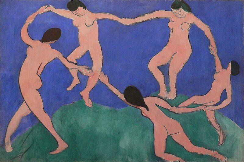 Dance I - Henri Matisse desde AUX BEAUX-ARTS Decor Image