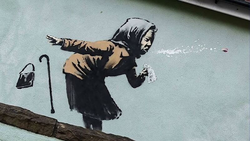 Aachoo!! - Banksy from AUX BEAUX-ARTS Decor Image