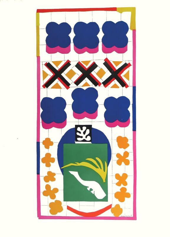 Verve - Poissons chinois - Henri Matisse de AUX BEAUX-ARTS Decor Image