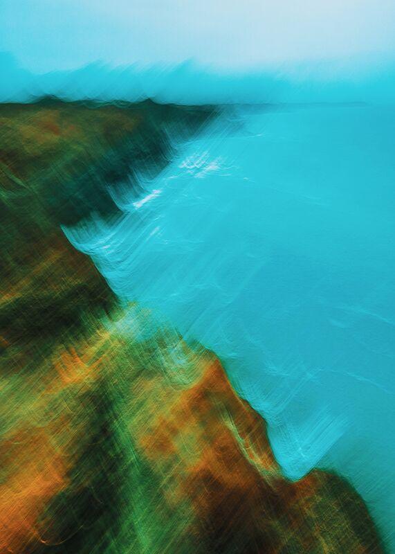 Bord de mer à Cancale en icm de Céline Pivoine Eyes Decor Image