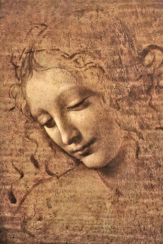 La Scapigliata - Léonard de Vinci de AUX BEAUX-ARTS Decor Image
