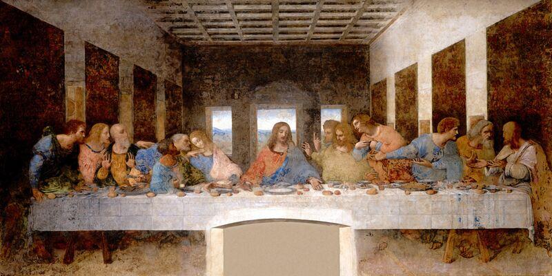 The Last Supper - Leonardo da Vinci desde AUX BEAUX-ARTS Decor Image