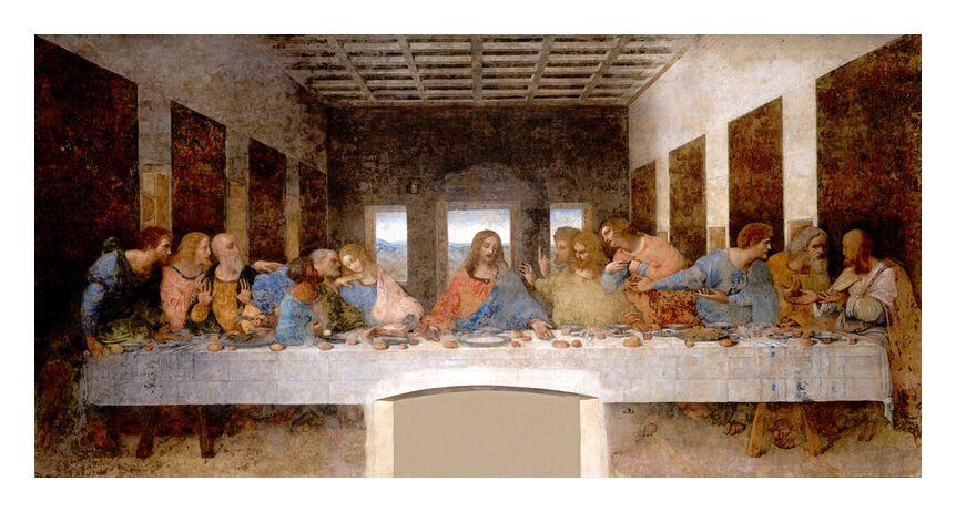 La Cène - Léonard de Vinci de AUX BEAUX-ARTS, Prodi Art, Leonard da vinci, jésus, Christ, église, cène, apôtres