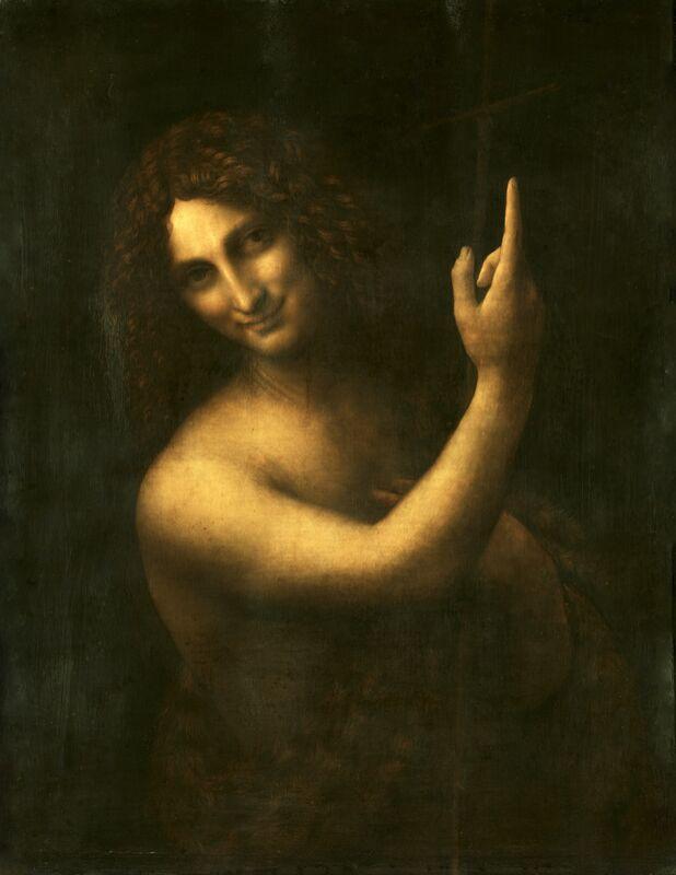 Saint Jean Baptiste - Léonard de Vinci de AUX BEAUX-ARTS Decor Image