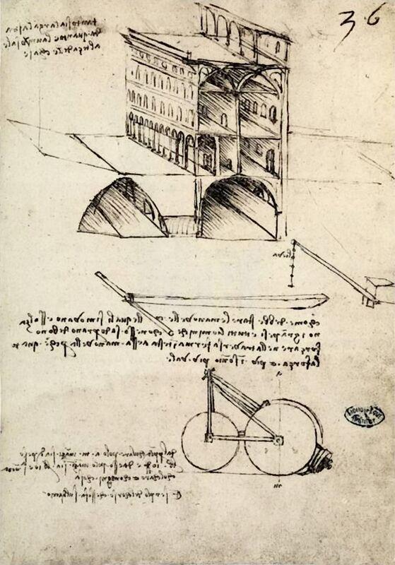 La Cité Idéale, Vue d'un Bâtiment, Logé à l'Institut De France, Paris - Léonard de Vinci de AUX BEAUX-ARTS Decor Image