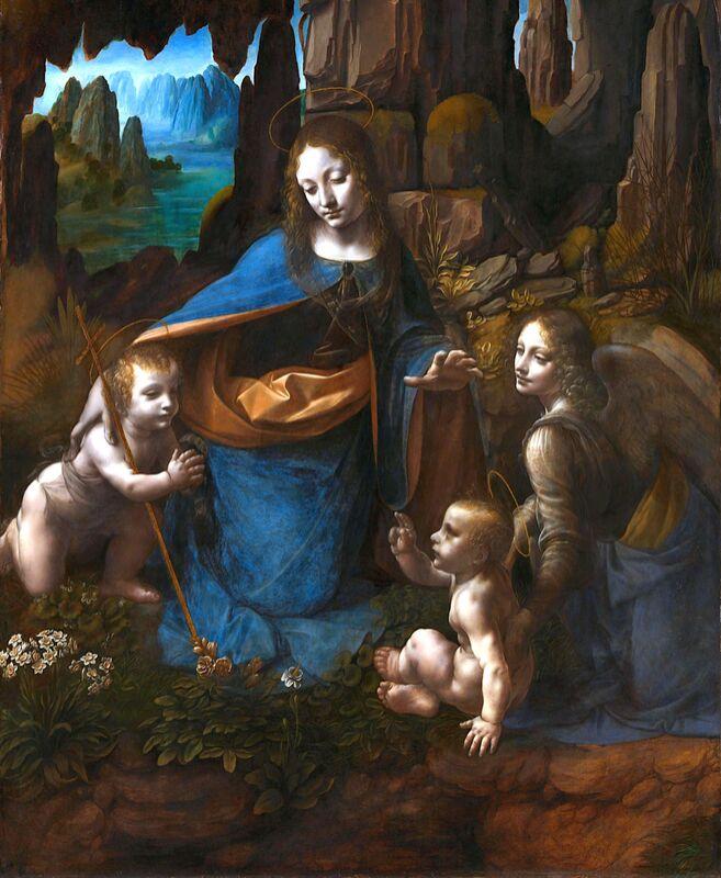 The Virgin of the Rocks - Leonardo da Vinci from AUX BEAUX-ARTS Decor Image