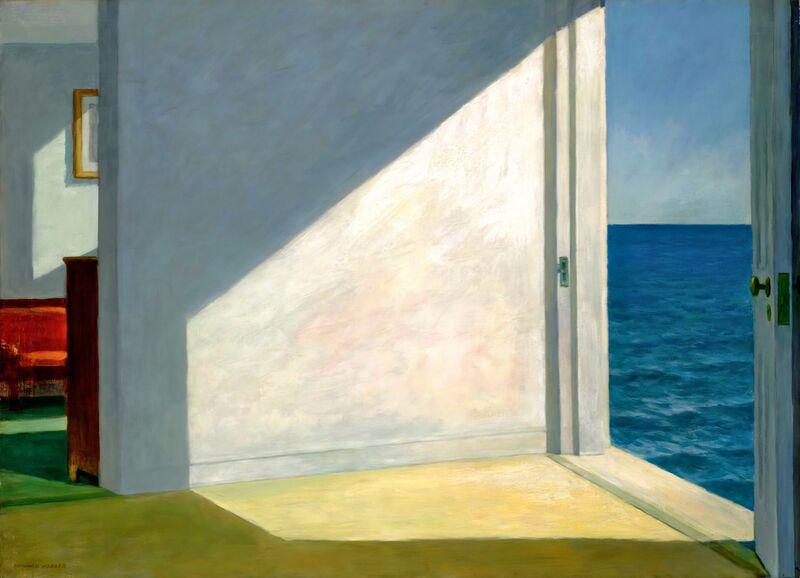Habitaciones Junto al Mar - Edward Hopper desde AUX BEAUX-ARTS Decor Image