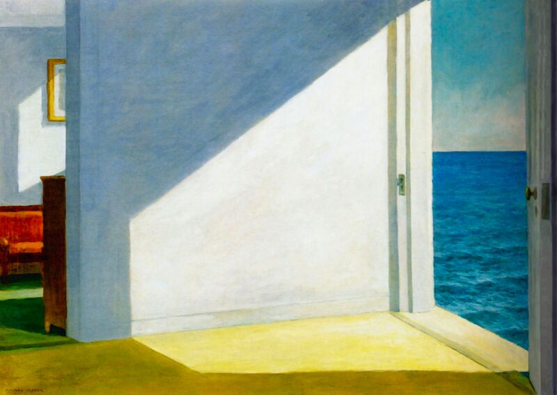 Rooms by the Sea - Edward Hopper from AUX BEAUX-ARTS Decor Image