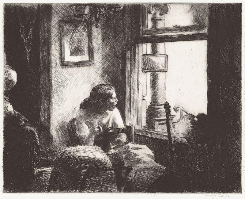 East Side Interior - Edward Hopper from AUX BEAUX-ARTS Decor Image