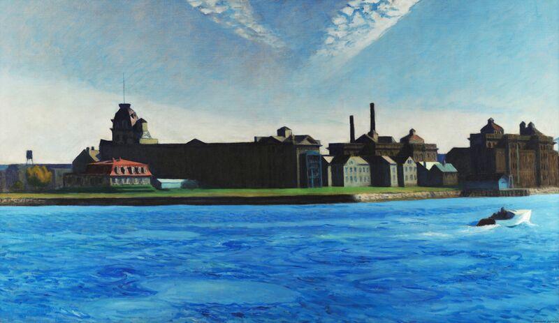 Isla de Blackwell - Edward Hopper desde AUX BEAUX-ARTS Decor Image