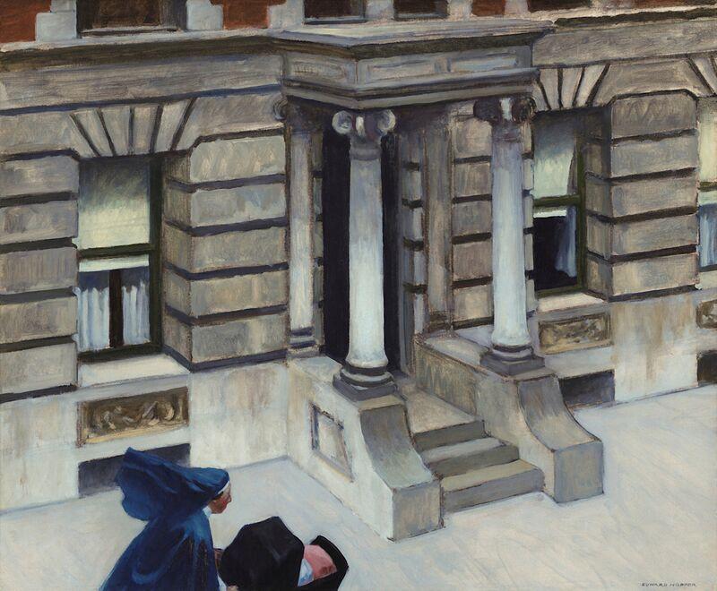 Pavimentos de Nueva York - Edward Hopper desde AUX BEAUX-ARTS Decor Image