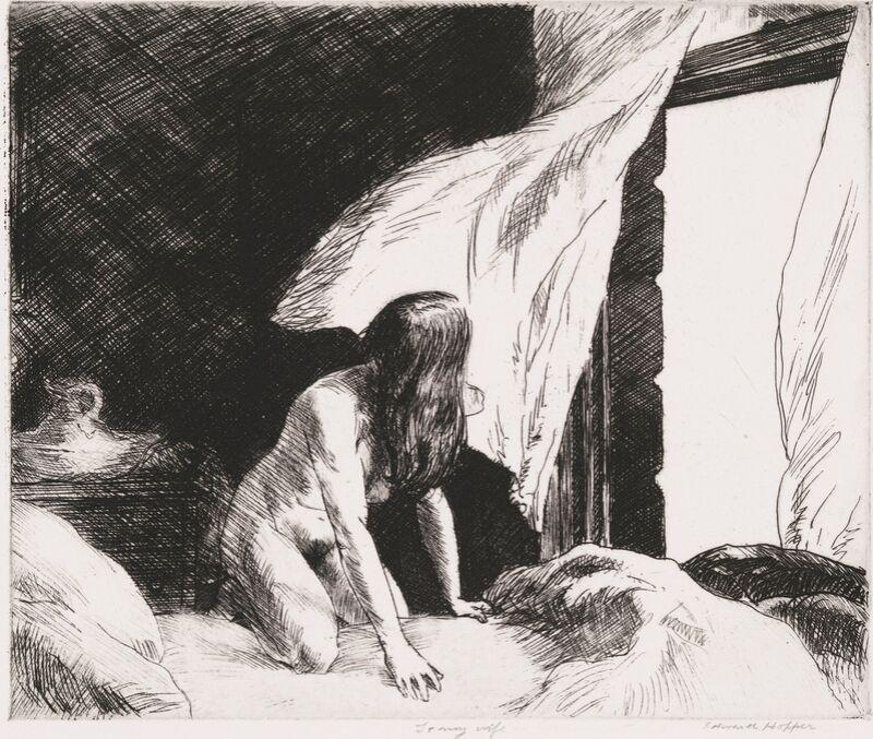 Viento de la Tarde - Edward Hopper desde AUX BEAUX-ARTS Decor Image