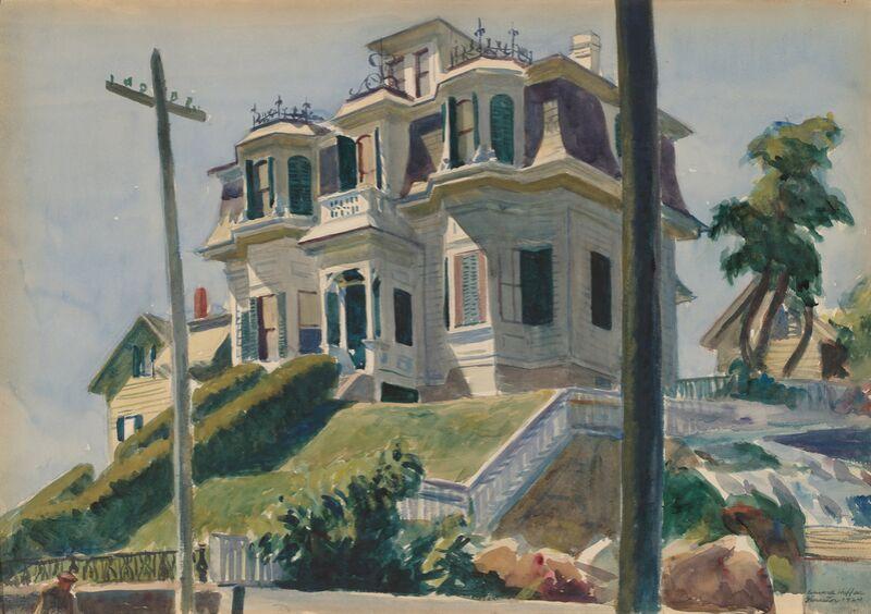 Haskell's House - Edward Hopper de AUX BEAUX-ARTS Decor Image