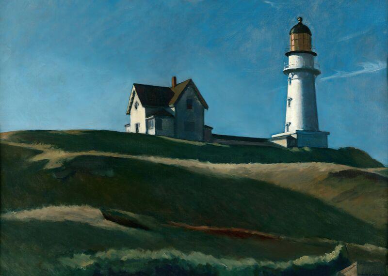 La colline du Phare - Edward Hopper de AUX BEAUX-ARTS Decor Image