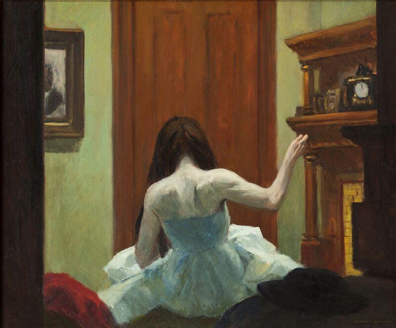 Interior de Nueva York - Edward Hopper desde AUX BEAUX-ARTS Decor Image