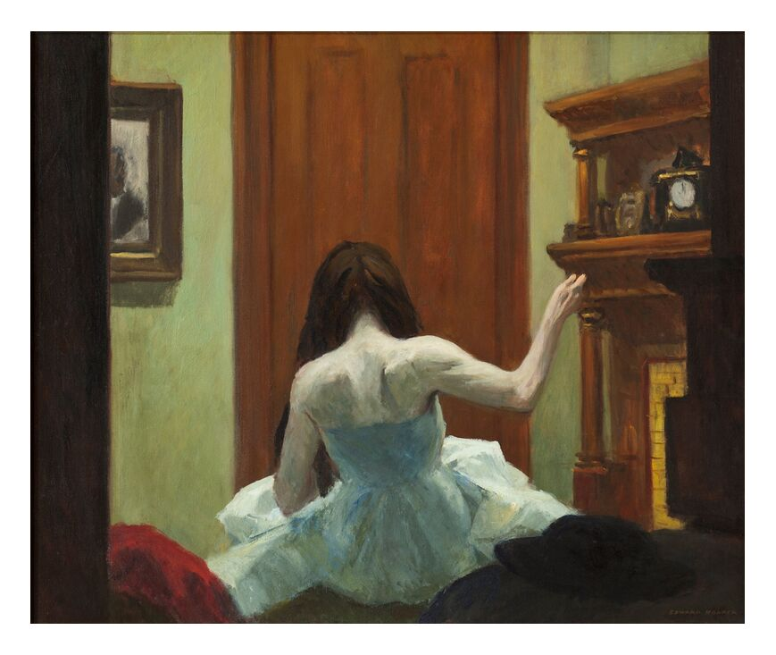 Intérieur de New York - Edward Hopper de AUX BEAUX-ARTS, Prodi Art, Edward Hopper, fille, danseuse