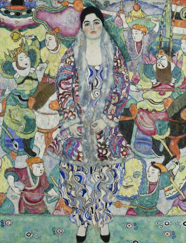 Portrait of Friedericke Maria Beer - Gustav Klimt desde AUX BEAUX-ARTS Decor Image