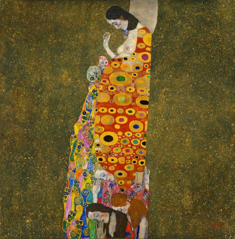 Espoir II - Gustav Klimt de AUX BEAUX-ARTS Decor Image