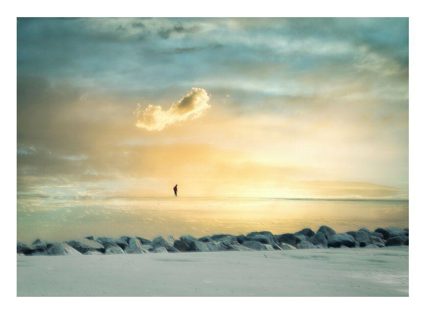 La plage de Berck from Céline Pivoine Eyes, Prodi Art, travel, sea side, landscape, sunset, sky, cloud, sand, sea, beach, Intentional Camera Movement, ICM, abstract, Dike, Berck sur mer