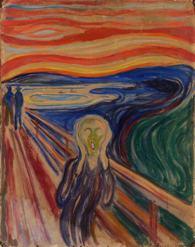 Le Cri - Edvard Munch de AUX BEAUX-ARTS Decor Image
