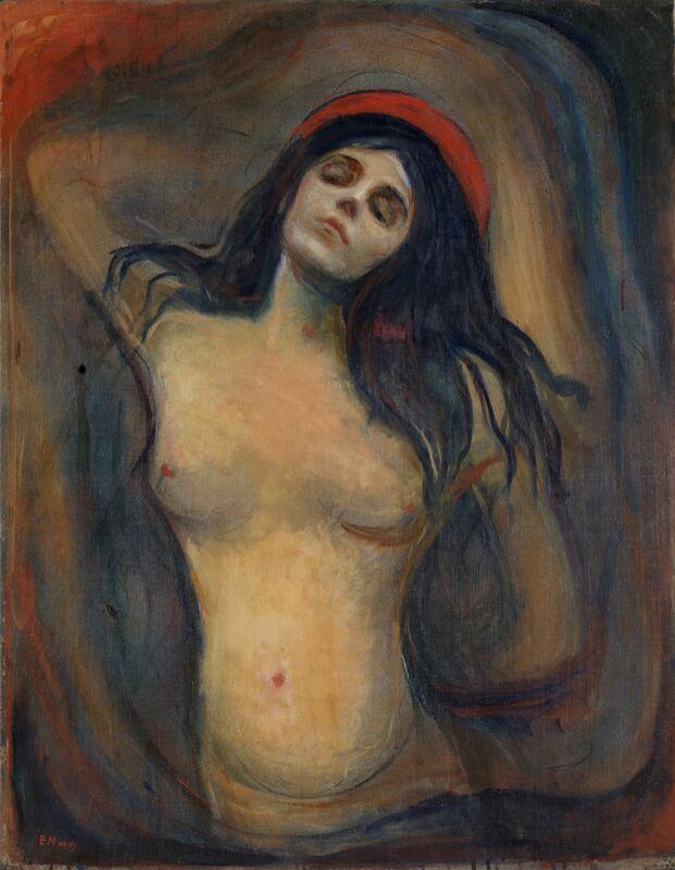 Madonna - Edvard Munch de AUX BEAUX-ARTS Decor Image