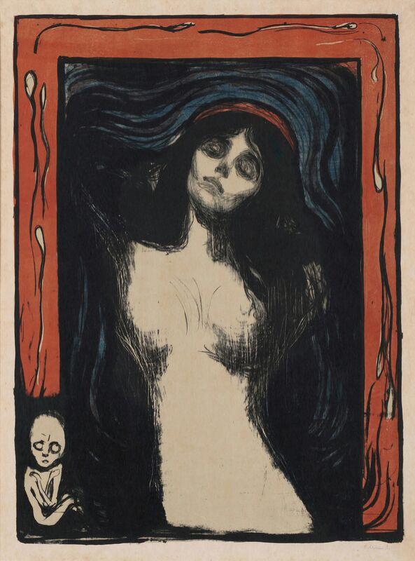 Madonna II - Edvard Munch de AUX BEAUX-ARTS Decor Image