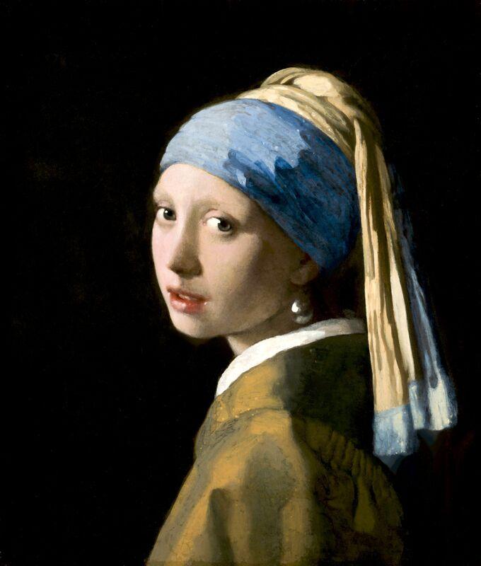 La Jeune Fille à la Perle - Johannes Vermeer de AUX BEAUX-ARTS Decor Image