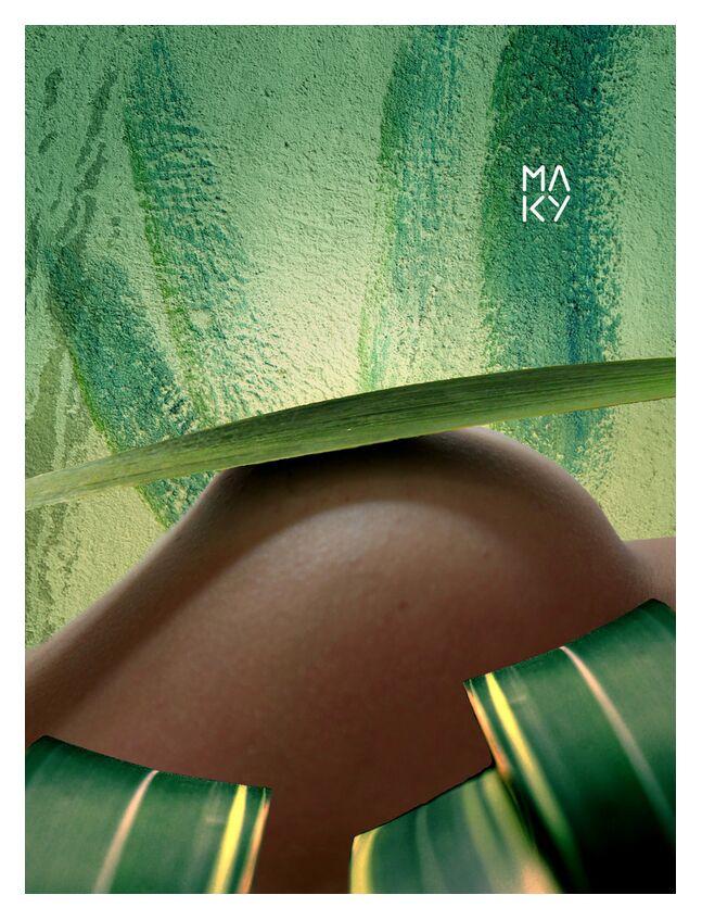 気7.3 from Maky Art, Prodi Art, digital collage, visual art, nature, body