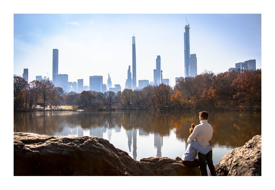 Lovers - NY from Caro Li, Prodi Art, Dear Li, Central Park, new york, Lovers, USA, United States