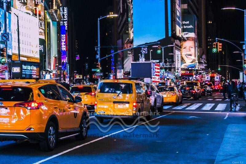 NY Street 3 de Caro Li Decor Image