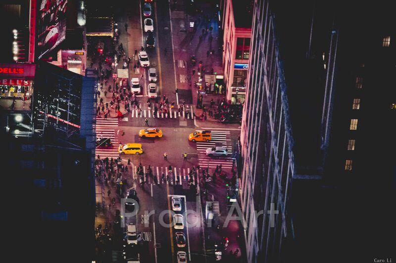 New-York by night de Caro Li Decor Image