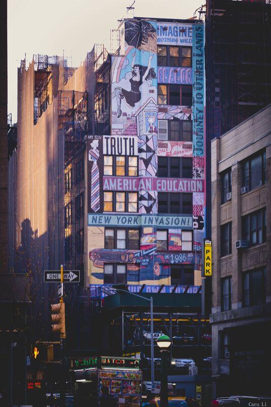 New-York Street de Caro Li Decor Image
