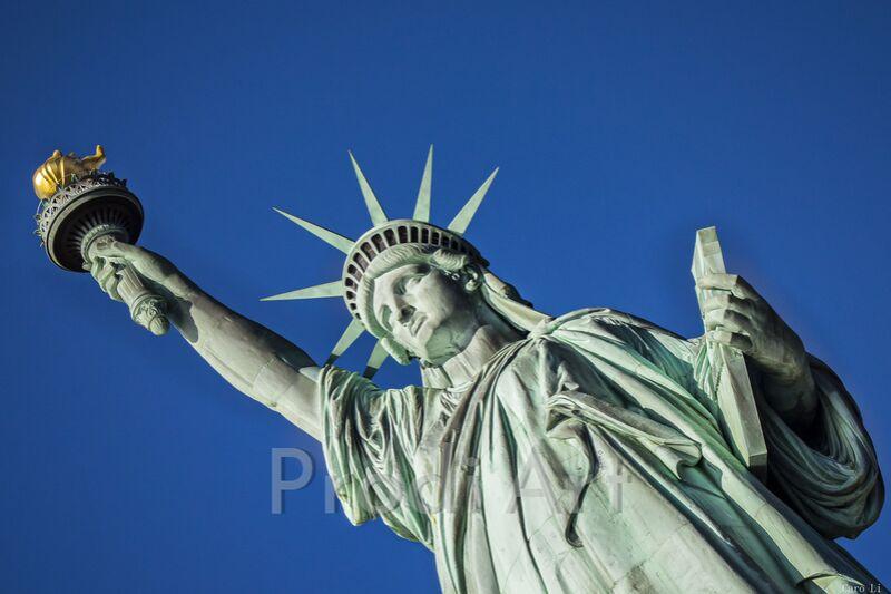 Statut de la liberté de Caro Li Decor Image