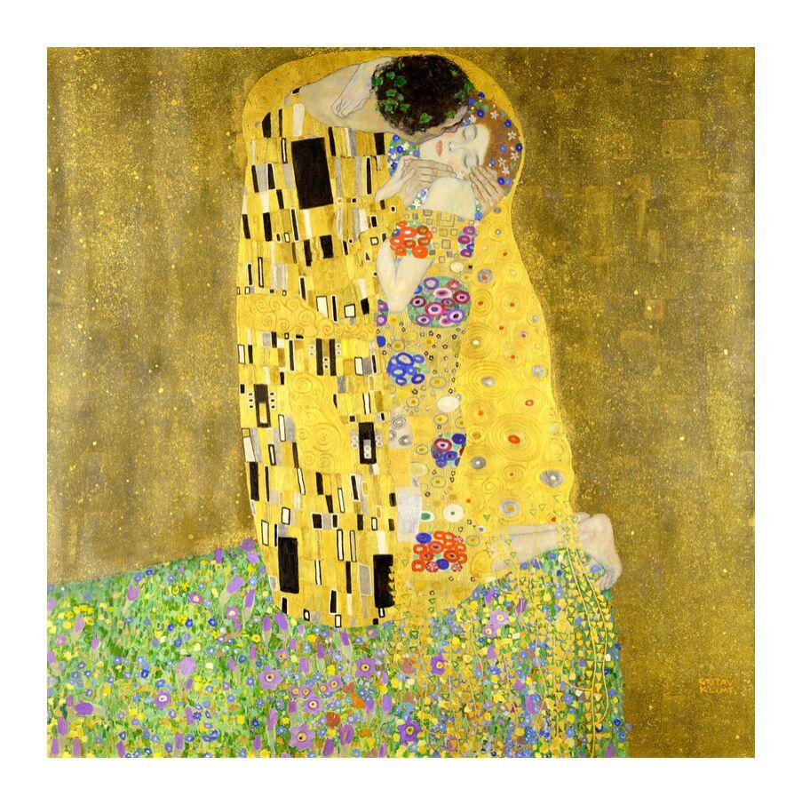 The Kiss - Gustav Klimt Kunstdruck von AUX BEAUX-ARTS
