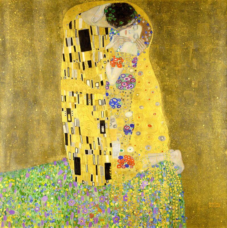 Le baiser - Gustav Klimt de AUX BEAUX-ARTS Decor Image