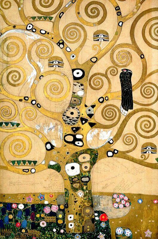 The tree of Life, The Arborvitae - Gustav Klimt from AUX BEAUX-ARTS Decor Image