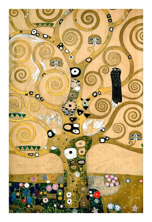 The tree of Life, The Arborvitae - Gustav Klimt Art Print by AUX ...