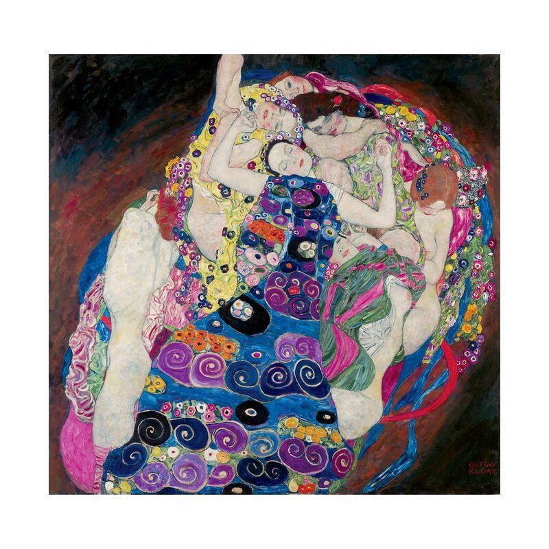 The Virgin - Gustav Klimt desde AUX BEAUX-ARTS, Prodi Art, art nouveau, pintura, mujeres, cara, virgen